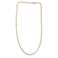 17Summer NEW* Row necklace - Silver/Gold