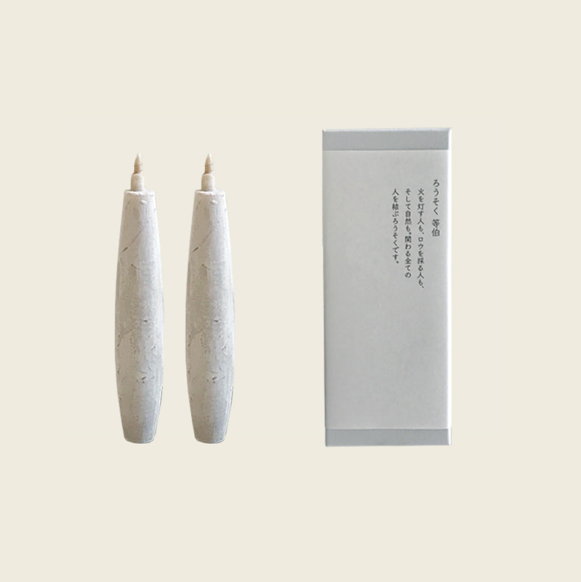 (From Japan) Tohaku candle (2types)